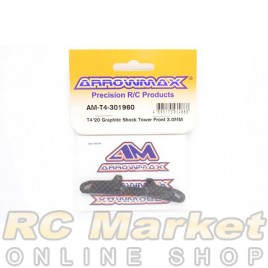 ARROWMAX T4-301960 T4'20 Graphite Shock Tower Front 3.0mm