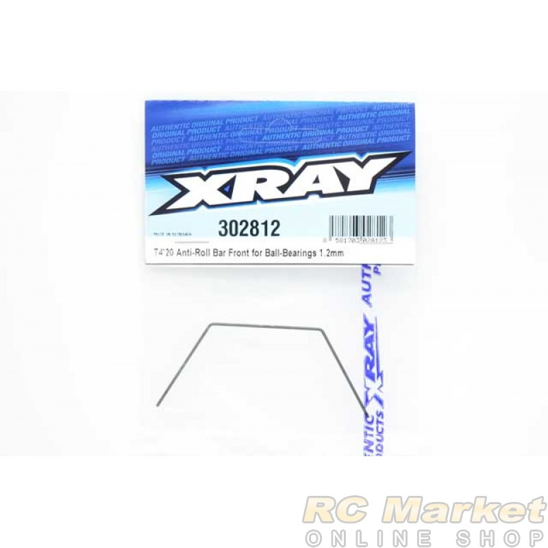 XRAY 302812 T4'20 Anti-Roll Bar For Ball-Bearings - Front 1.2mm