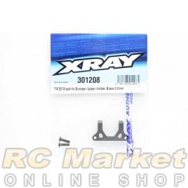 XRAY 301208 T4'20 Graphite Bumper Upper Holder Brace 3.0mm