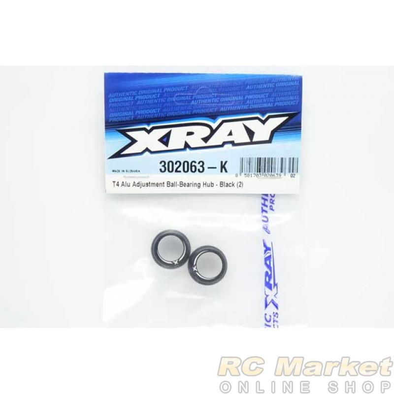 XRAY 302063-K T4 Alu Adjustment Ball-Bearing Hub (2)