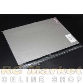 HUDY 108302 Flat Set-Up Board 1/10 & 1/12 On-Road - Lightweight - Silver Grey