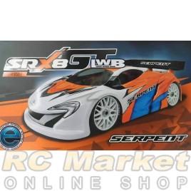 SERPENT 600060 Cobra SRX8 GTE LWB 1/8 EP