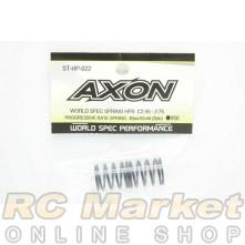 AXON ST-HP-022 World Spec Spring HPS C2.45-2.75: Blue / Gold (2pic)