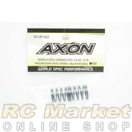 AXON ST-HP-022 World Spec Spring HPS C2.45-2.75: Blue / Gold (2pic)