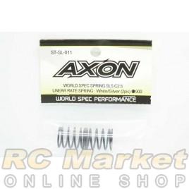 AXON ST-SL-011 World Spec Spring SLS C2.5 : White / Sliver (2pic)