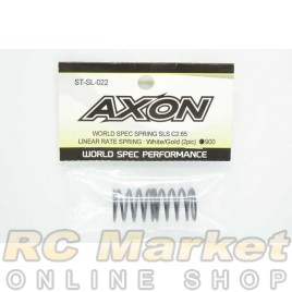 AXON ST-SL-022 World Spec Spring SLS C2.65 : White / Gold (2pic)