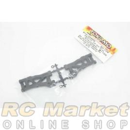 YOKOMO B10-008RG Rear Suspension Arm (57.0mm-Shock42.0mm) Molded Carbon Fiber Compsite for BD10