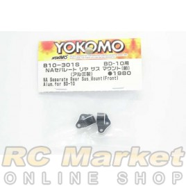 YOKOMO B10-301S NA Separate Rear Suspension Mount (Front) Alum. for BD10