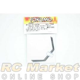 YOKOMO B10-412FW Front Sway Bar Only (Φ1.2/1.3/1.4mm) for BD10