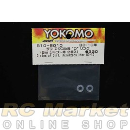 YOKOMO B10-501O O-ring of Diff Axle (2pcs) for BD10