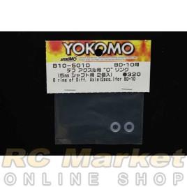 YOKOMO B10-501O O-ring of Diff Axle (2pcs) for BD10