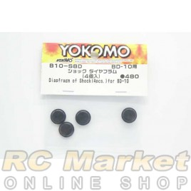 YOKOMO B10-S8D Diapfragm for Shock (4pcs) for BD10