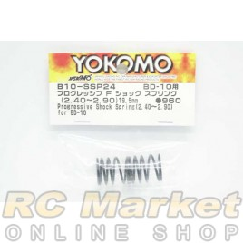 YOKOMO B10-SSP24 Progressive Front Shock Spring (2.40-2.90/19.5mm) for BD10
