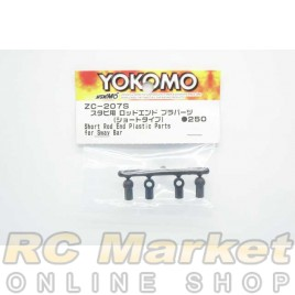 YOKOMO ZC-207S Short Rod End Plastic Parts for Sway Bar