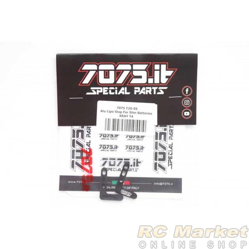 7075.it T20-05 Alu Lipo Stop - XRAY T4