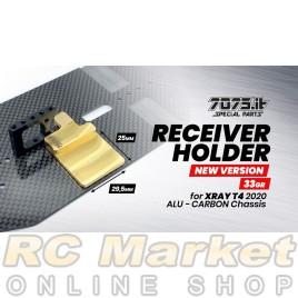 7075.it T20-04 33gr Brass Receiver Holder Xray T4'20