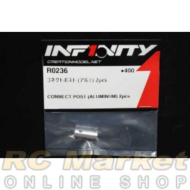 INFINITY R0236 IF18 Connect Post (Aluminum) 2pcs