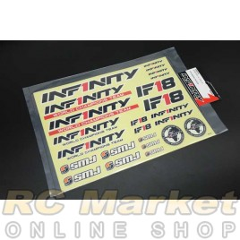 INFINITY R8034 IF18 Decal Black