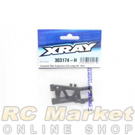 XRAY 303174-H T4'20 Composite Rear Suspension Arm Long Left - Hard