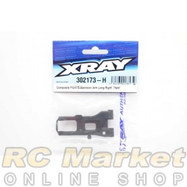 XRAY 302173-H T4'20 Composite Front Suspension Arm Long Right - Hard
