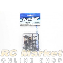 XRAY 308308-K T4'20 ULP Alu Shock Absorber - Set - Black (2)
