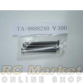 TAMIYA 19808240 3X35mm Countersunk Hex Head Screw (4)