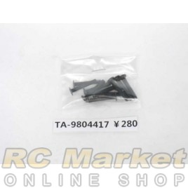 TAMIYA 19804417 3X18mm Flat Screw (10)