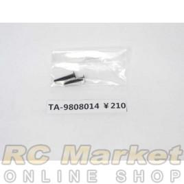 TAMIYA 19808014 3X15mm Flat Screw (2)