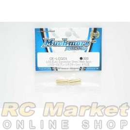 MUCH MORE CE-LCGC5 LCG Euro Connector (5mm) Male 2pcs