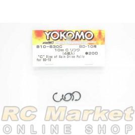 YOKOMO B10-630C 10mm C Ring (4pcs) for BD10