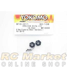 YOKOMO B10-011 4.0mm Clamping Wheel Hub (2pcs) for BD10