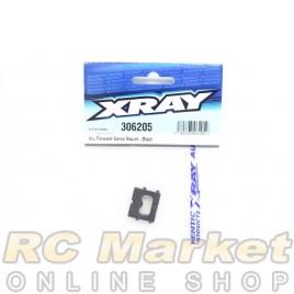 XRAY 306205 Alu Forward Servo Mount - Black