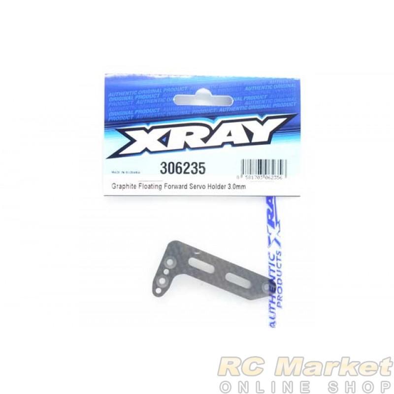 XRAY 306235 Graphite Floating Forward Servo Holder 3.0mm