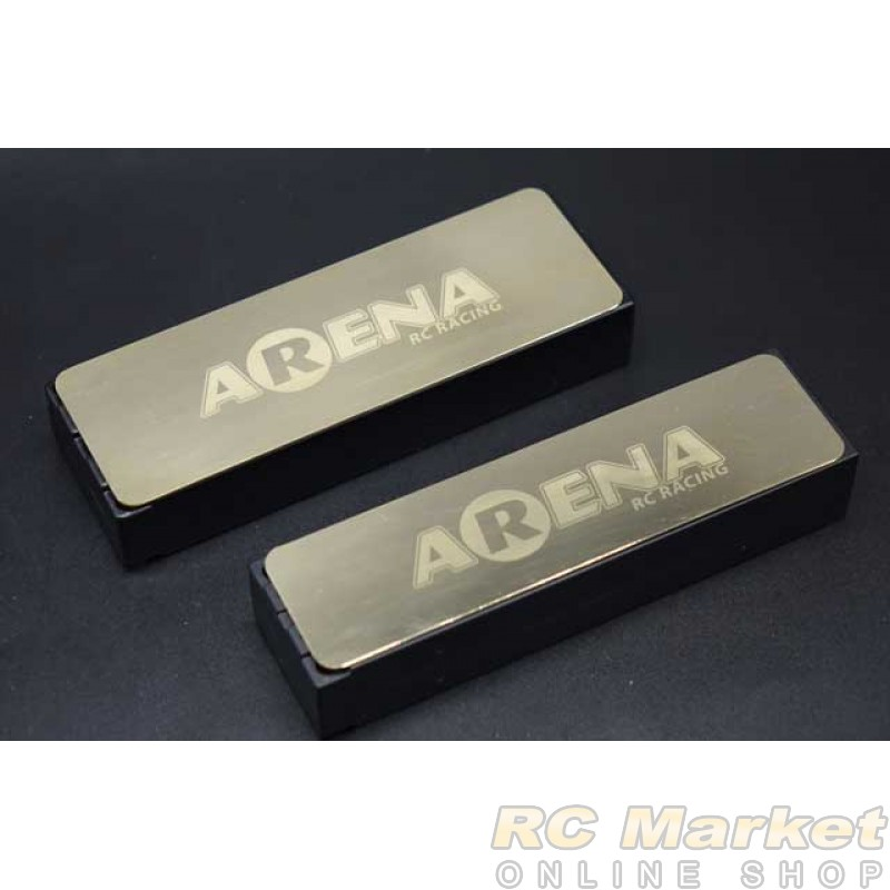 ARENA BWP-S08 Battery Weight Plate STD Size 134x45mm / 0.8mm / 44g
