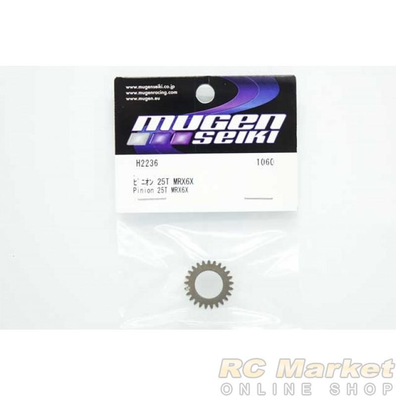 MUGEN SEIKI H2236 MRX6X Pinion 25T