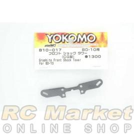 YOKOMO B10-017 Graphite Front Shock Tower for BD10