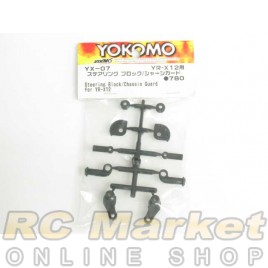YOKOMO YX-07 Steering Block / Chassis Guard for YR-X12