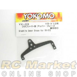 YOKOMO YX-03 Graphite Upper Brace for YR-X12