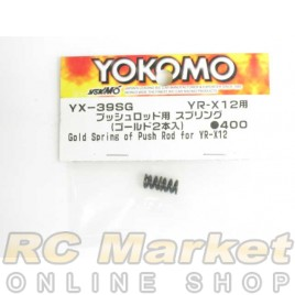YOKOMO YX-39SG Gold Spring of Push Rod for YR-X12 (2)