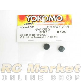 YOKOMO YX-40D Silicon Diaphram for Pitching Damp. (2)