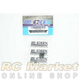 RC-COX CXR-024-BK XRAY T4 Bumper Post Black (For Xray T4)