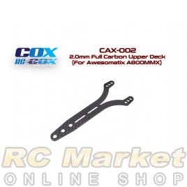 RC-COX CAX-002 2.0mm Full Carbon Upper Deck (For Awesomatix A800MMX)
