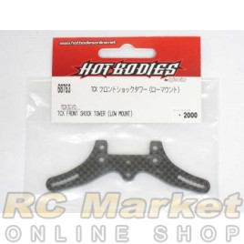 HOT BODIES 68763 TCX Front Shock Tower (Low Mount)