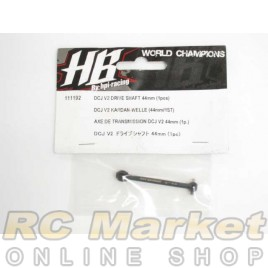HOT BODIES 111192 DCJ V2 Drive Shaft 44mm