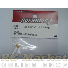 HOT BODIES 61699 Front Spring (Hard/0.55 mm/5 Coils)