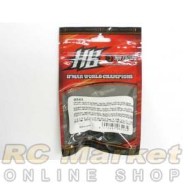 HOT BODIES 6543 Racing Shock Spring 14 x 25 x 1.5mm 6.5 coils (SIL/2 pcs)