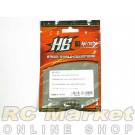 HOT BODIES 114534 Shock Ball 5.8mm (Hard Coated / 4 pcs)