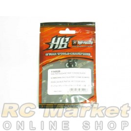 HOT BODIES 114528 Dual Pivot Block Set FR/RF 1.0 degree (Black)