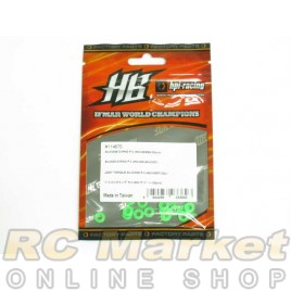 HOT BODIES 114675 Silicon O-Ring P-3 (#50/Green/20 pcs.)