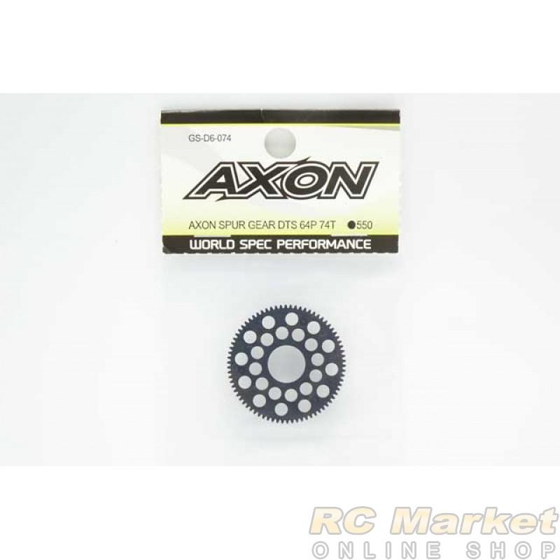 AXON GS-D6-074 Spur Gear DTS 64P 74T